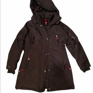 Canada Weather Gear Snow Coat Sz 10/12 Med Lined